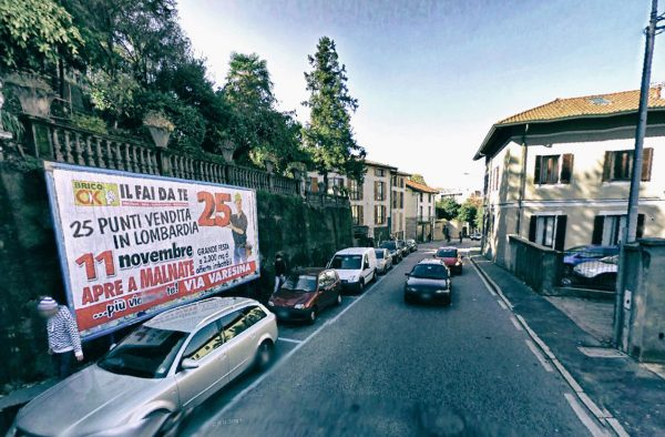 Varese, via San Michele: 1 postazione