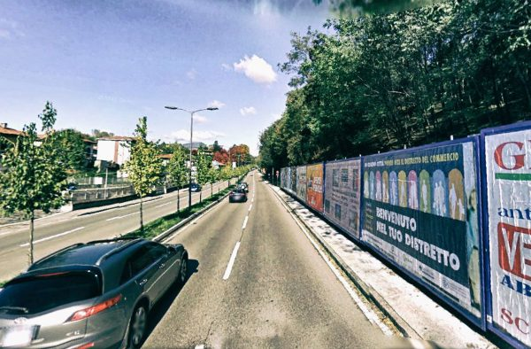 Varese, viale Europa: 7 postazioni
